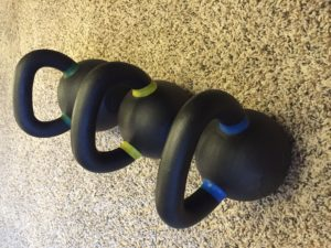 Our small kettlebell family